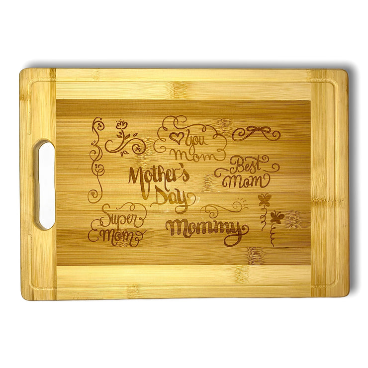 Mothers Day - Laser Engraved Serving Tray