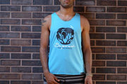 Men's Ocean Blue Inspire Tank - Curious Bear Marketplace