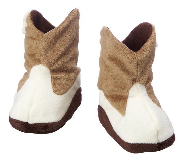 Cowboy Boot Slippers - Curious Bear Marketplace