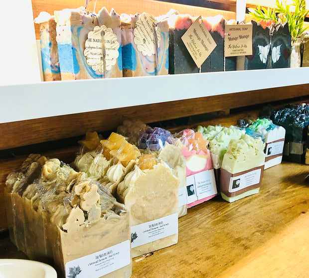 Handcrafted Artisan Soap - Curious Bear Marketplace