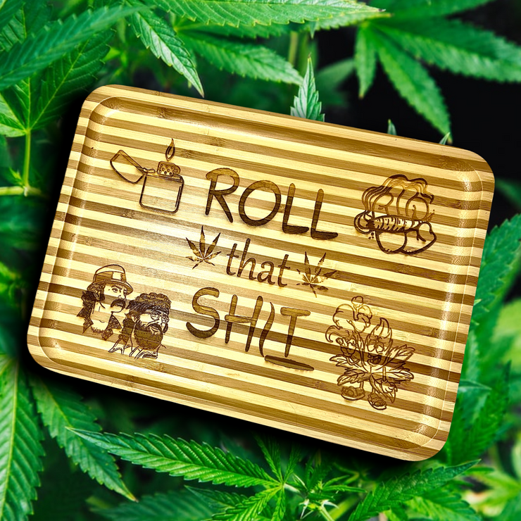 Roll That Sh*t Serving Tray