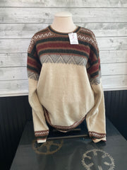Alpaca Wool Pullover Sweater (Extra Large)