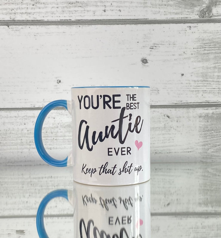 Coffee Mug - Blue 11oz