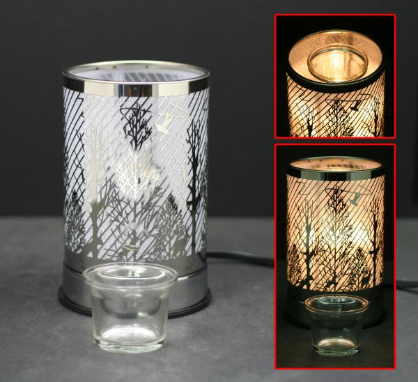 "7"" Touch Lamps with Oil/Wax Warmer - Curious Bear Marketplace"