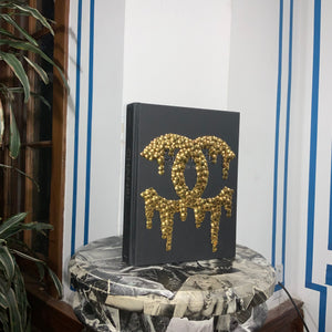 Chanel and Her World Book - Silver Drip Logo