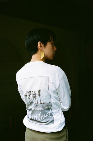 LOBBY × Stall Long sleeve T shirt_White