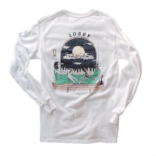 LOBBY × Kentaro Yoshida Long sleeve T-shirt