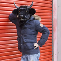 Thumbs Up MR BULL Mouth Moving Bull Mask, One Size - The Catalogue Outlet