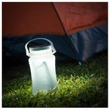 Partner Adventures IG109068 Solar LED Canister, White, One Size - The Catalogue Outlet