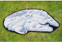 Star Wars Picnic Rug Millennium Falcon Monster Factory Outdoor - The Catalogue Outlet
