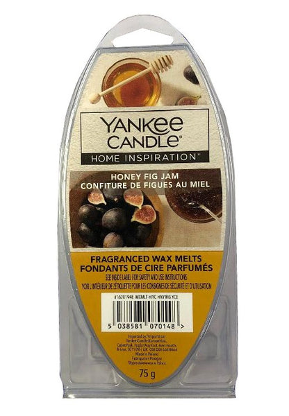 Yankee Candle Home Inspiration Fragranced Wax Melts 75g Honey Fig Jam - The Catalogue Outlet