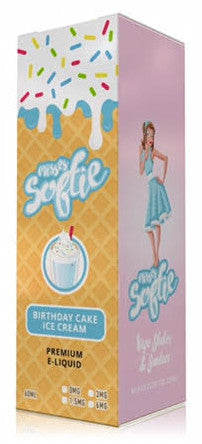 Misses Softie - Birthday Cake Ice Cream Vape Juice