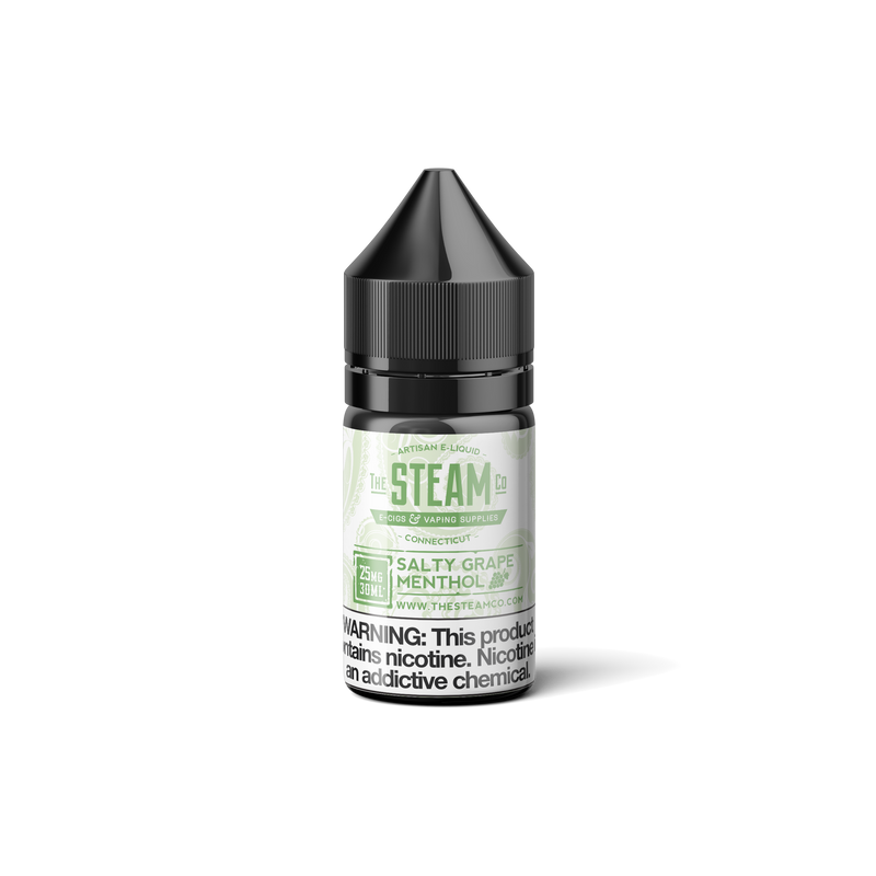 Salty Grape Menthol - The Steam Co.