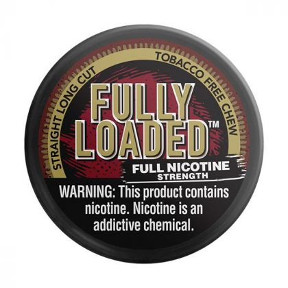 Straight Long Cut Tobacco Free Chew - Fully Loaded