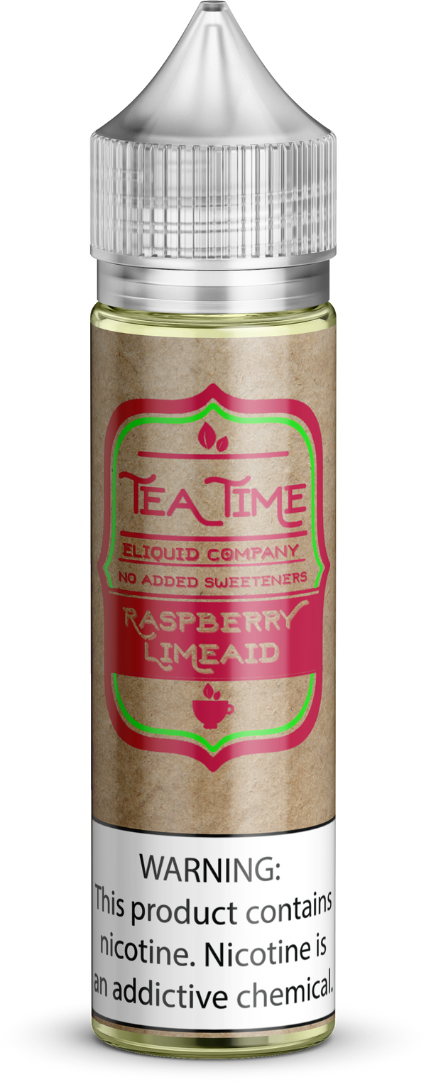 Raspberry Limeaid Tea - Tea Time