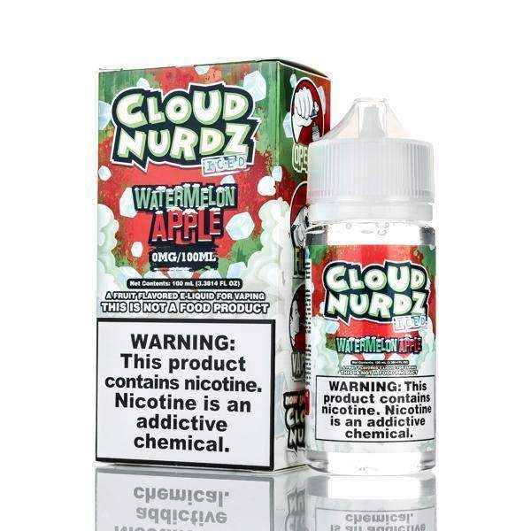 Watermelon Apple Iced - Cloud Nurdz