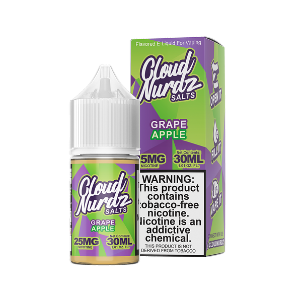 Grape Apple - Salt E-Liquid - Cloud Nurdz