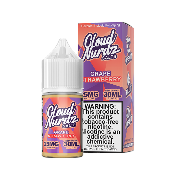 Grape Strawberry - Salt E-Liquid - Cloud Nurdz