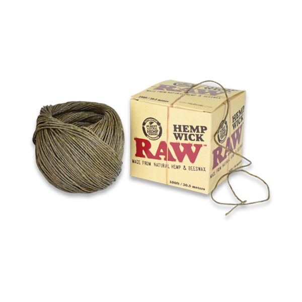 Hemp Wick - RAW