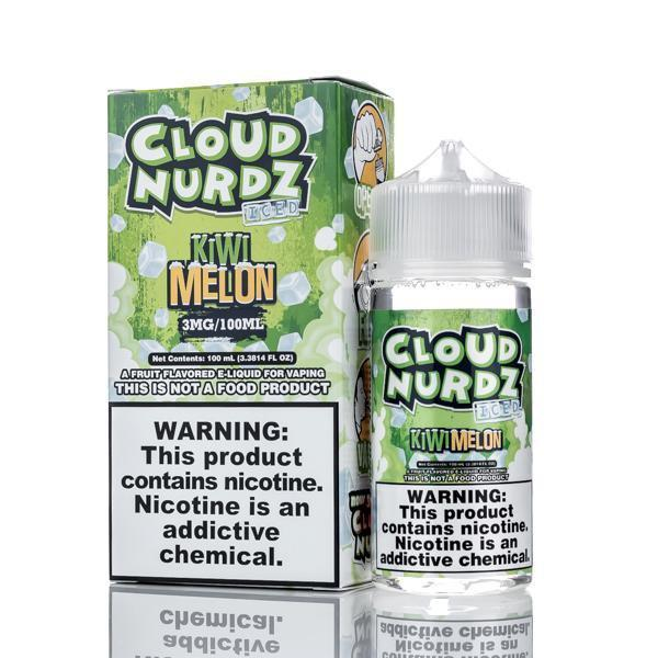 Kiwi Melon Iced - Cloud Nurdz