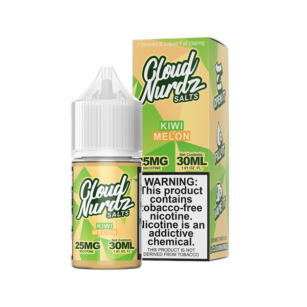 Kiwi Melon - Salt E-Liquid - Cloud Nurdz