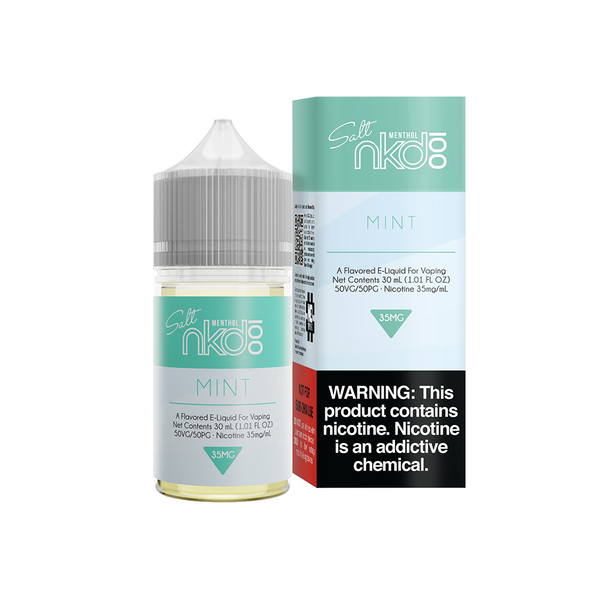Mint - Salt E-Liquid - Naked 100