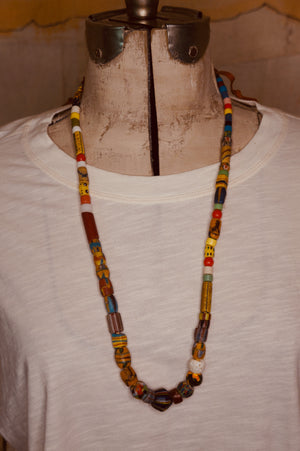 Colorful African Bead Necklace