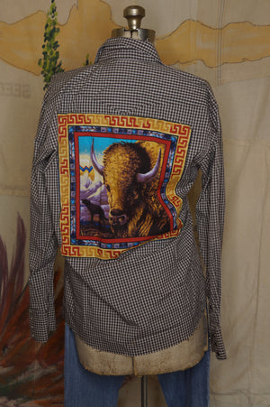 WS1011 Decorated Western Snap Shirt