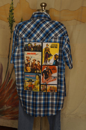 WS1009 Decorated Western Snap Shirt