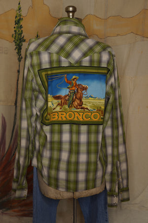 WS1010 Decorated Western Snap Shirt