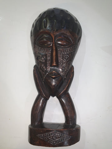 Ghanian Wooden Mask