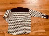Long sleeve African print shirt