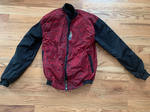 Reversible colorful jacket