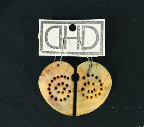 Loving Flaming Maple Earrings