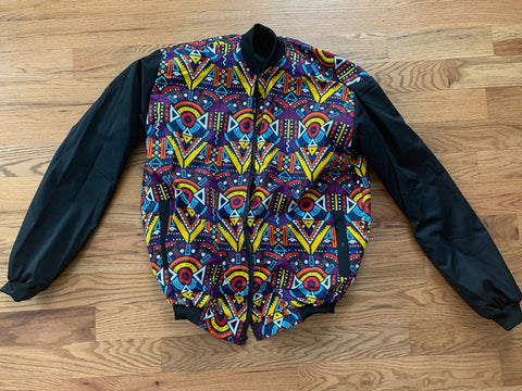 Reversible multicolored Jacket