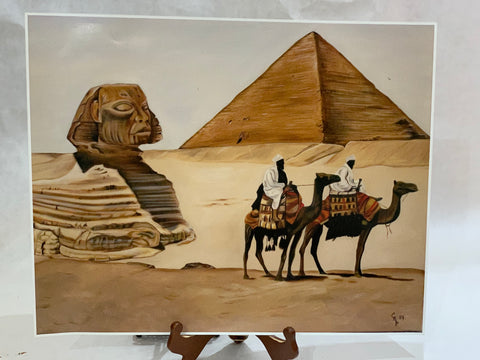 """Journey to the Pyramids"""