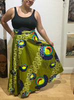 Long Wrap Skirt3