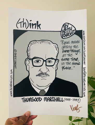 """Think"" Thurgood Marshall Comic"
