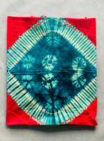 Red Tie Dye Sarong