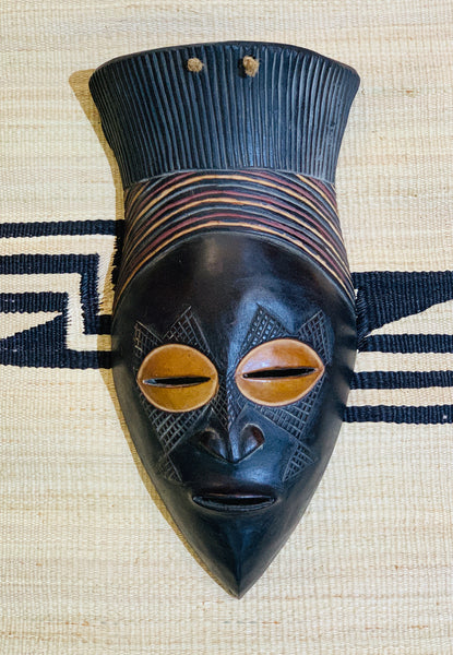 Rwandan Wooden  Tribal Masks