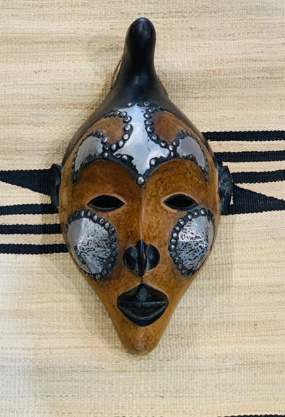 Metal & Wood Mask