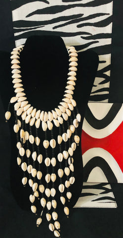 COWERY CASCADING NECKLACE