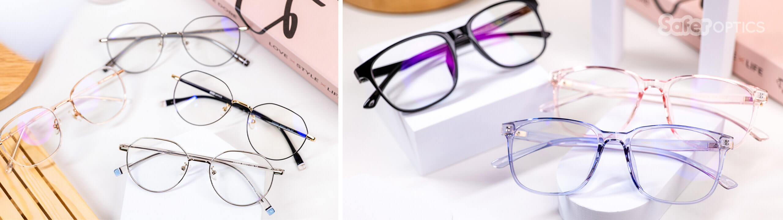 Blue light blocking glasses for adults