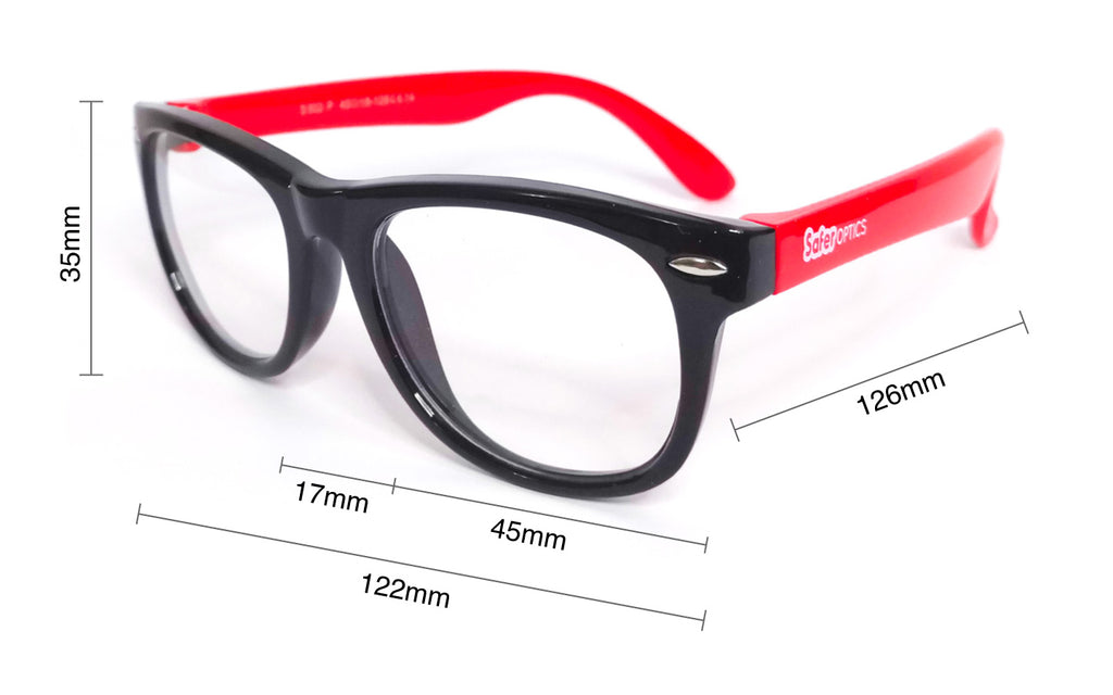 Mini Wayfarer Size Measurement Guide