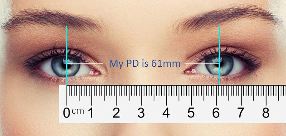 How to measure Pupillary Distance PD