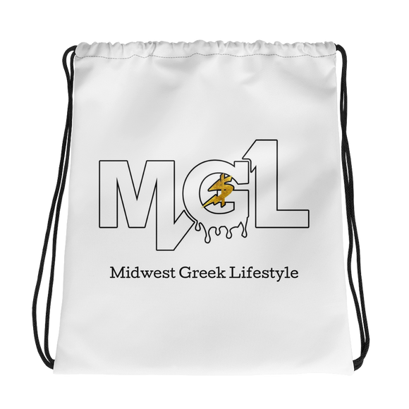 Midwest Greek Lifestyle Drawstring bag