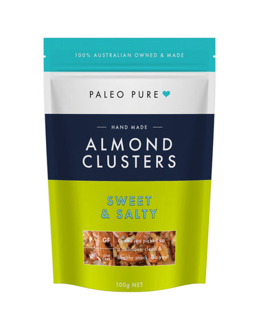 Almond Clusters Sweet & Salty - 100gm
