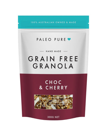Choc & Cherry grain free granola 300gm
