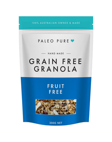 100% Fruit free grain free granola 300gm