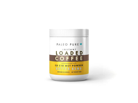 Keto loaded instant coffee  - Butter Bomb 160gm - PaleoPure